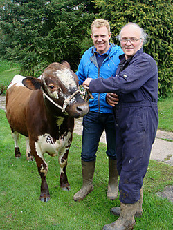 Chris and Adam from countryfile